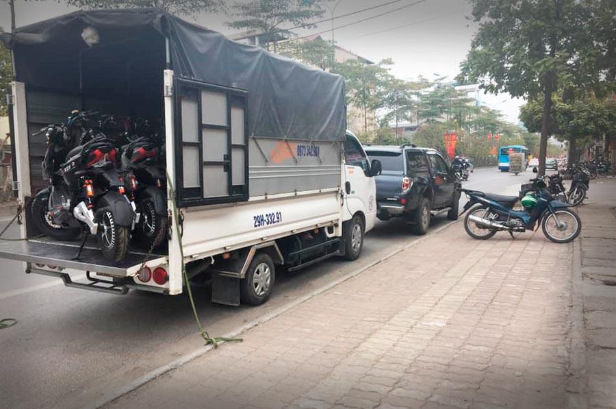 Thuê xe tải chở hàng thuê cho doanh nghiệp